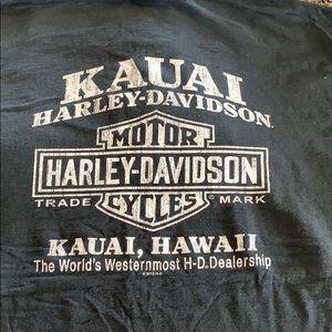 MENS Harley Davidson Kauai Hawaii T-shirt size XL